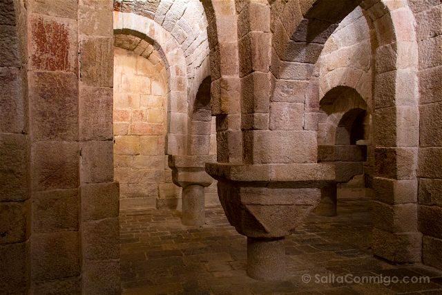 Navarra Monasterio Leyre Cripta