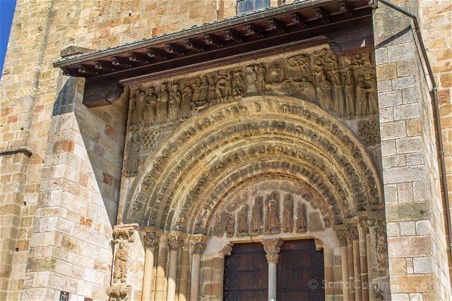 Navarra Monasterio Leyre Puerta Speciosa