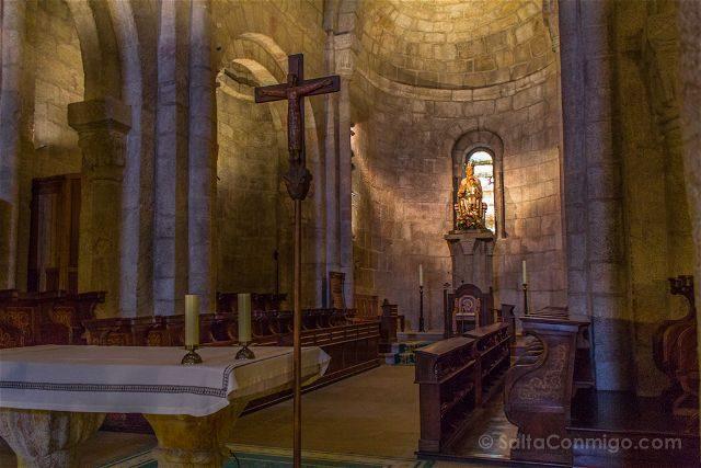 Navarra Monasterio Leyre Templo Santa Maria