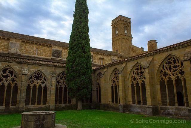 Navarra Monasterio Oliva Claustro