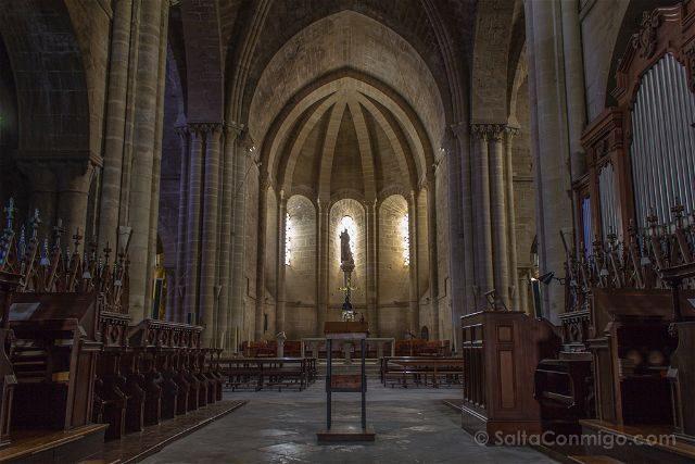 Navarra Monasterio Oliva Templo Interior