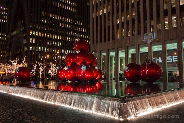 Nueva York Decoracion Navidad