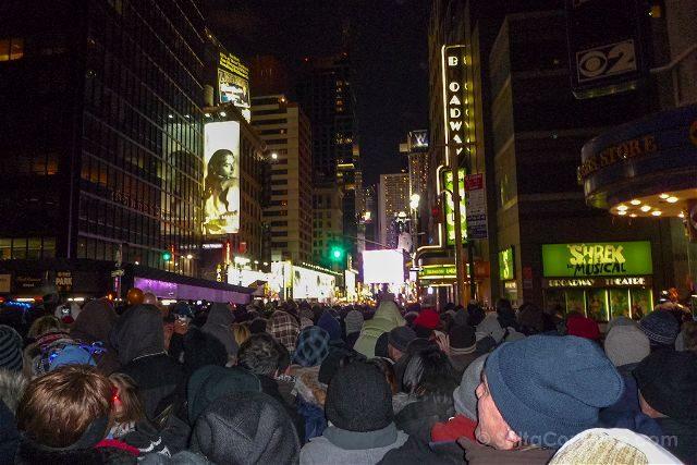 Nueva York Nochevieja Times Square