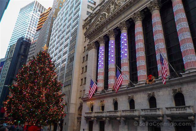 Nueva York Wall Street Arbol
