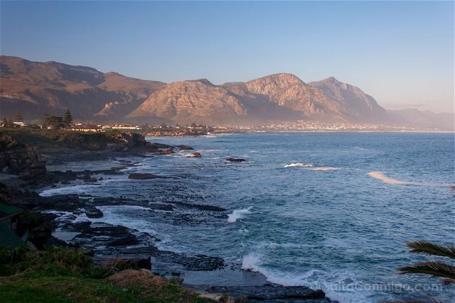 Sudafrica Hermanus Oceano Olas