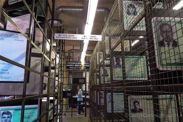 Sudafrica Johannesburgo Museo Apartheid
