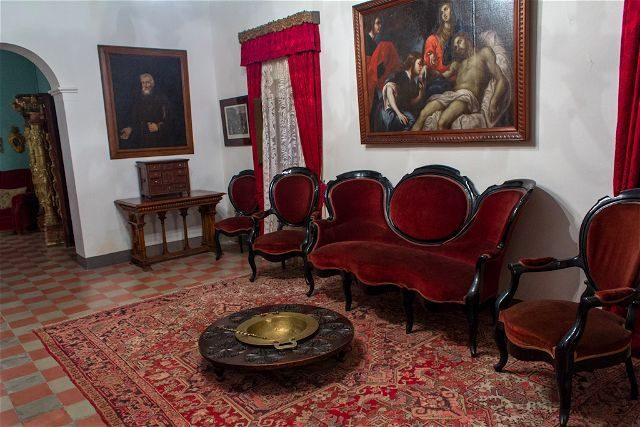 Tarragona Baix Camp Castillo Escornalbou Monasterio Casa Toda Sala