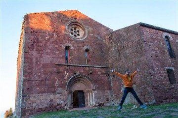 Tarragona Baix Camp Castillo Escornalbou Monasterio Salto