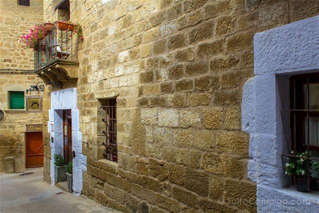Aragon Zaragoza Uncastillo Calles Puertas