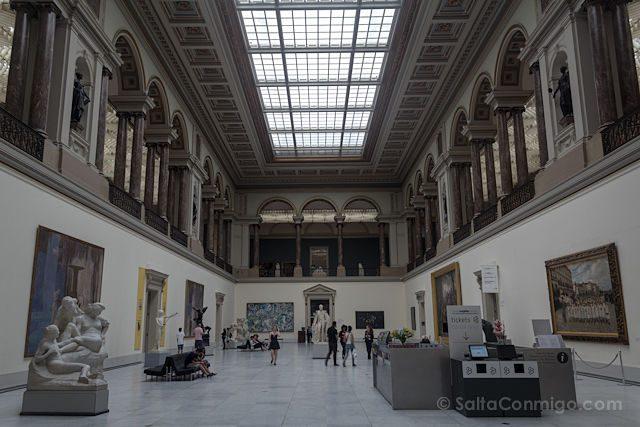 Belgica Bruselas Museos Reales Bellas Artes Interior