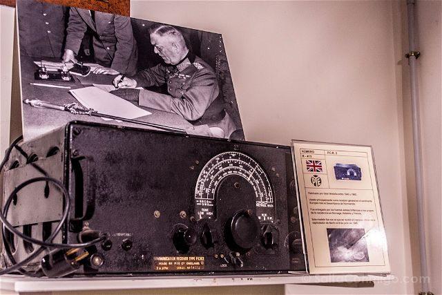 Burgos Belorado Museo Radiotransmision Inocencio Bocanegra Radio Rendicion Alemana