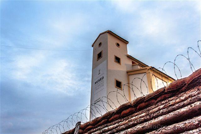 Burgos Belorado Museo Radiotransmision Inocencio Bocanegra Silo Desde Trinchera