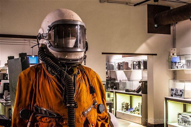 Burgos Belorado Museo Radiotransmision Inocencio Bocanegra Traje Cosmonauta