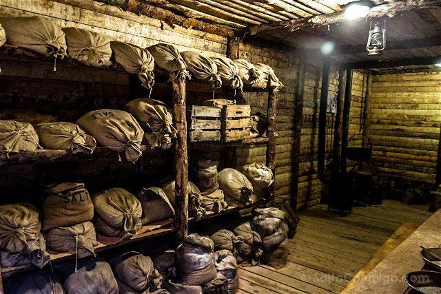 Burgos Belorado Museo Radiotransmision Inocencio Bocanegra Trichera Primera Guerra Mundial Despensa