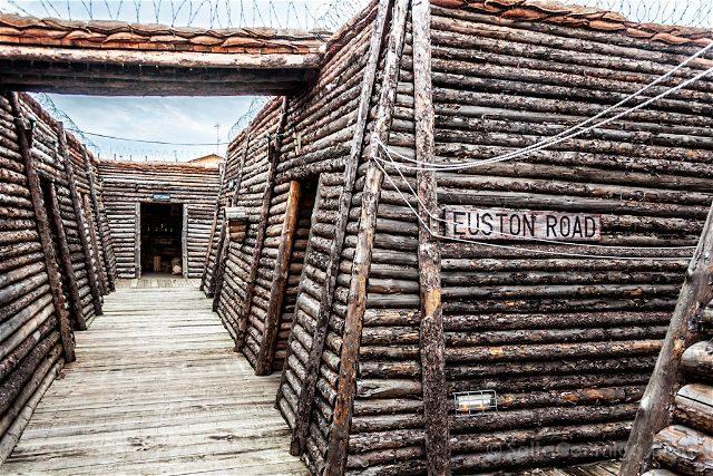 Burgos Belorado Museo Radiotransmision Inocencio Bocanegra Trinchera Primera Guerra Mundial