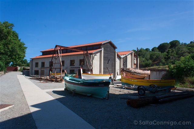 Francia Costa Bermeja cala Paulilles barcas catalanas
