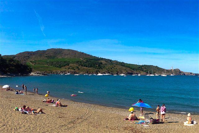 Francia Costa Bermeja cala Paulilles playa