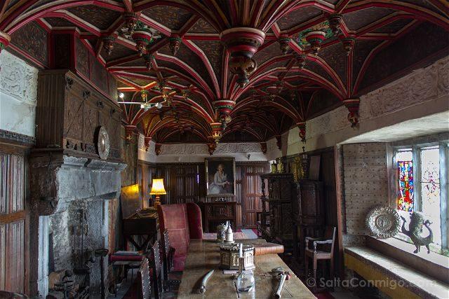 Irlanda Castillo Bunratty Salon Invitados