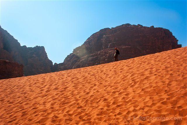 Jordania Desierto Rojo Wadi Rum Arena Beduino
