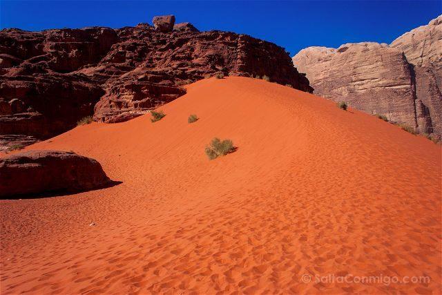 Jordania Desierto Rojo Wadi Rum Arena
