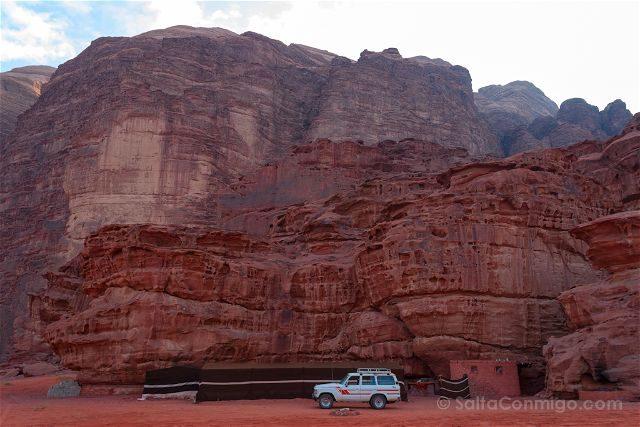 Jordania Desierto Rojo Wadi Rum Campamento