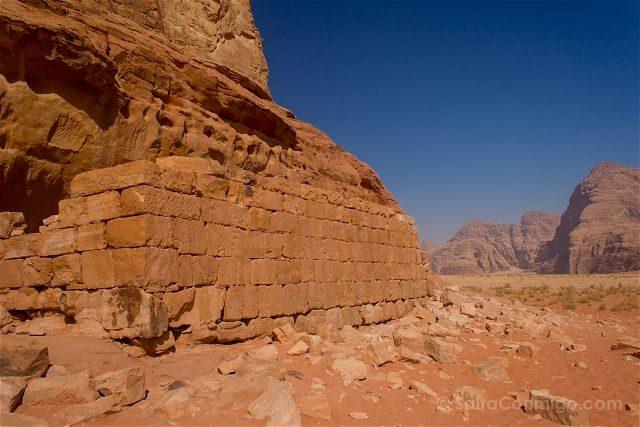 Jordania Desierto Rojo Wadi Rum Casa Lawrence