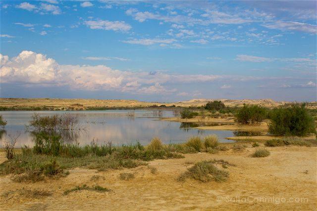 Navarra Parque Natural Bardenas Reales Embalse Zapata