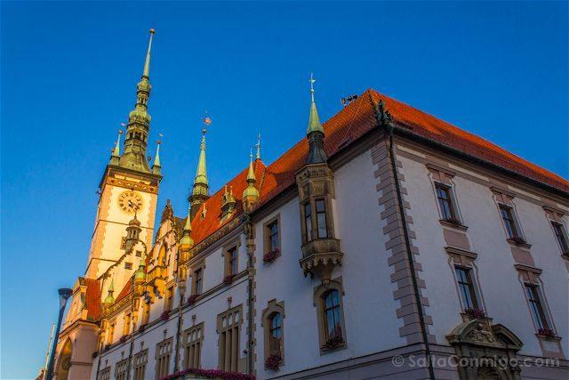 Republica Checa Moravia Olomuc Ayuntamiento