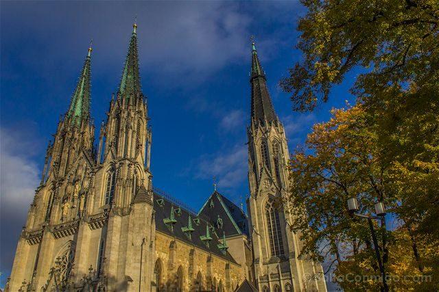 Republica Checa Moravia Olomuc Catedral San Venceslao