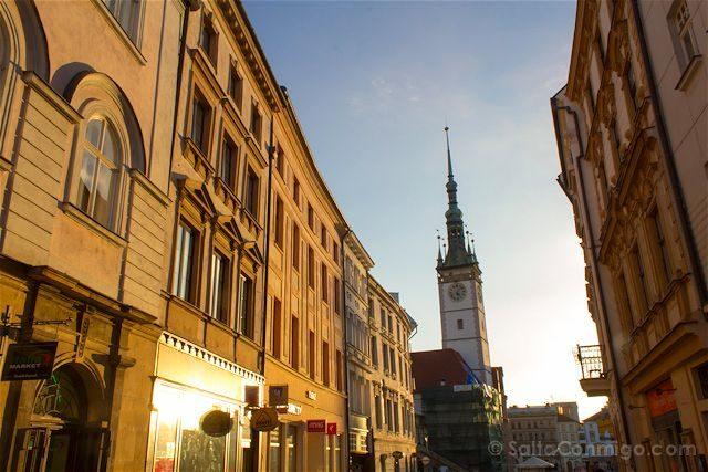Republica Checa Moravia Olomuc Centro