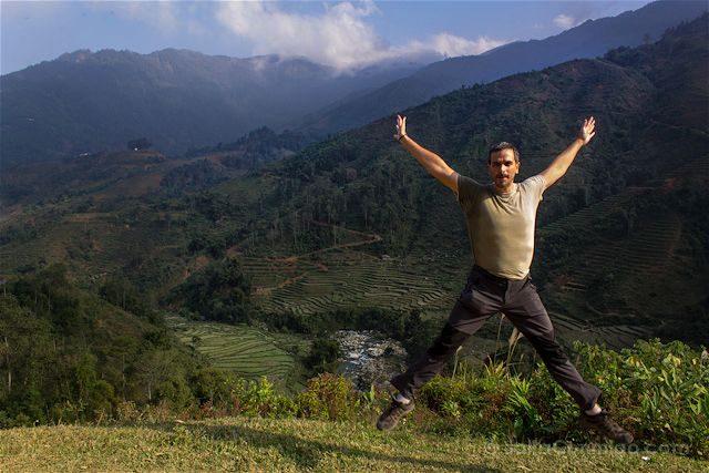 Vietnam Sapa Arrozales Terrazas Salto