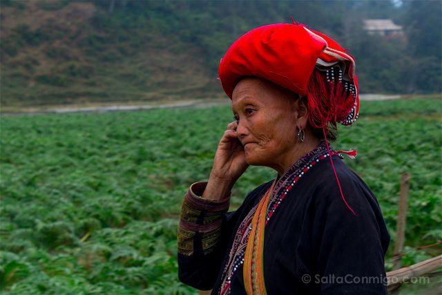 Vietnam Sapa Mujer Hmong
