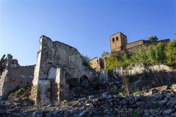 Aragon Zaragoza Esco Pueblo Abandonado