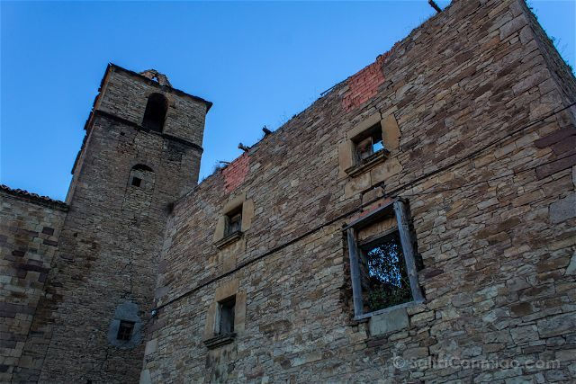 Aragon Zaragoza Ruesta Pueblo Abandonado