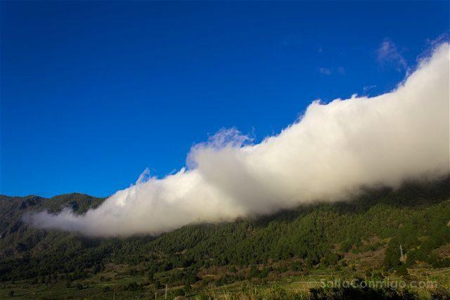 Canarias La Palma El Paso Mar Nubes