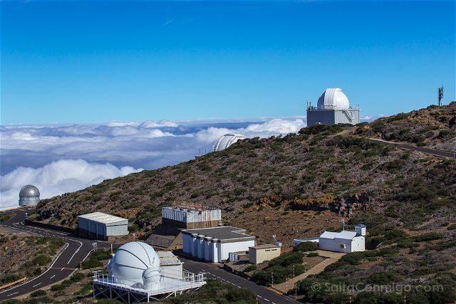 Canarias La Palma Roque Muchachos Observatorios