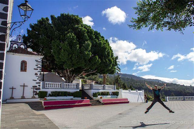 Canarias La Palma Tijarafe Salto