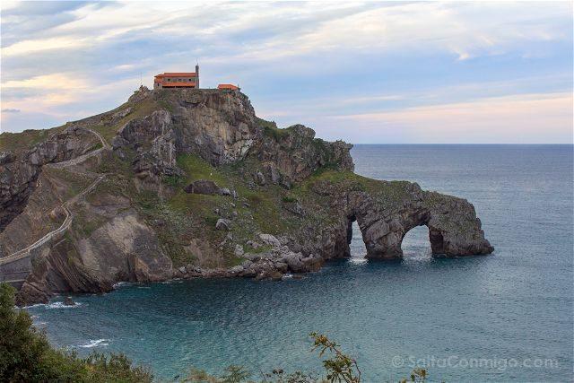 Costa Vasca Bizkaia Monte San Juan Gaztelugatxe Cerca