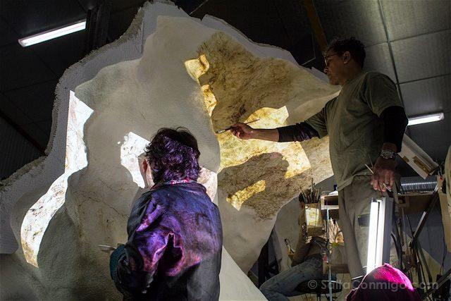 Francia Aquitania Cueva Lascaux Pintando Replica