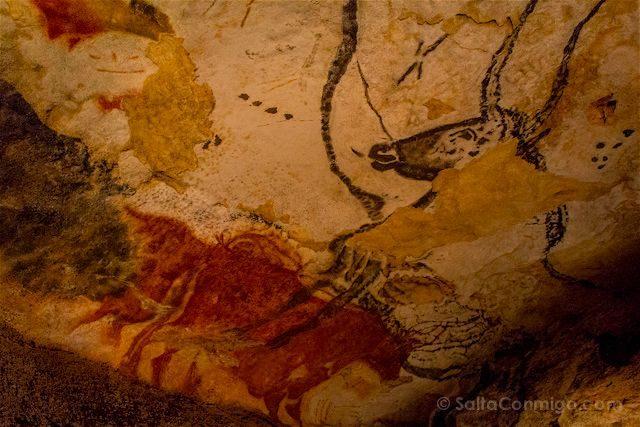 Francia Aquitania Cueva Lascaux Sala Toros