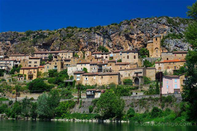 Francia Midi Pyrenees Aveyron Millau Tarn Peyre