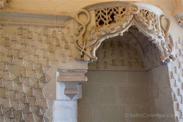 Francia Valle Loira Ciudadela Real Loches Oratorio Ana Bretana