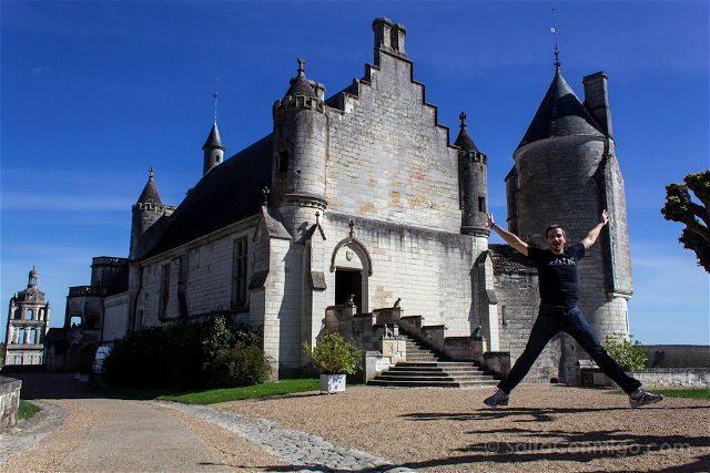 Francia Valle Loira Ciudadela Real Loches Residencia Salto
