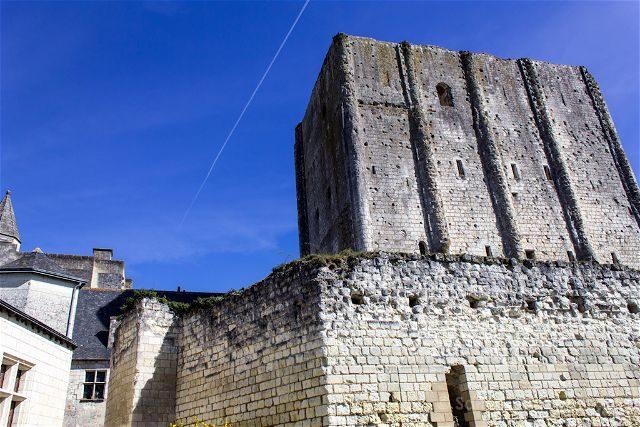 Francia Valle Loira Ciudadela Real Loches Torre Homenaje