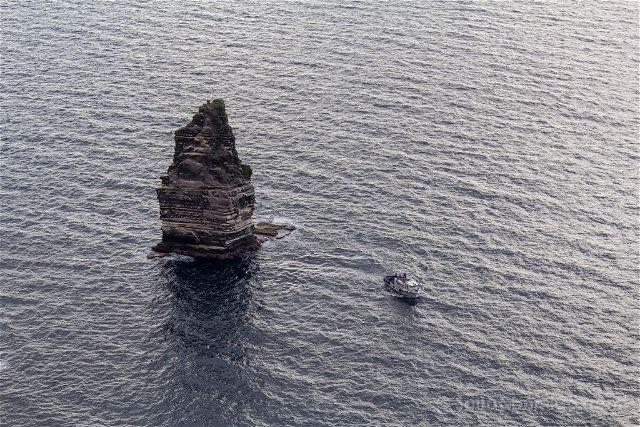 Irlanda Cliffs Acantilados Moher An Branan Mor Barco