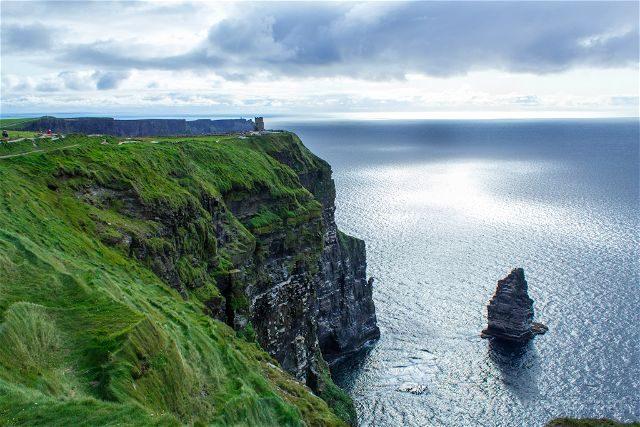 Irlanda Cliffs Acantilados Moher An Branan Mor Great Raven