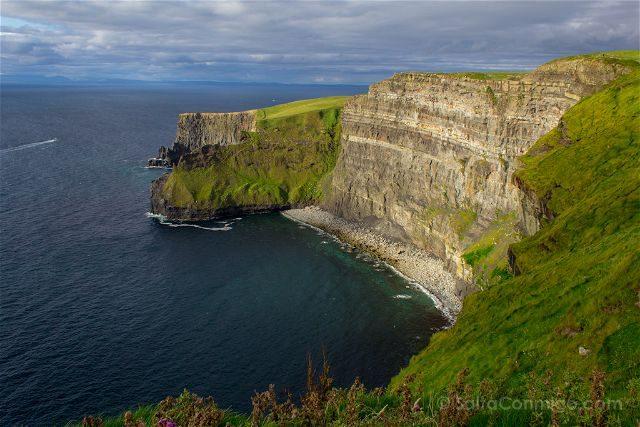 Irlanda Cliffs Acantilados Moher Carraig Na Trail