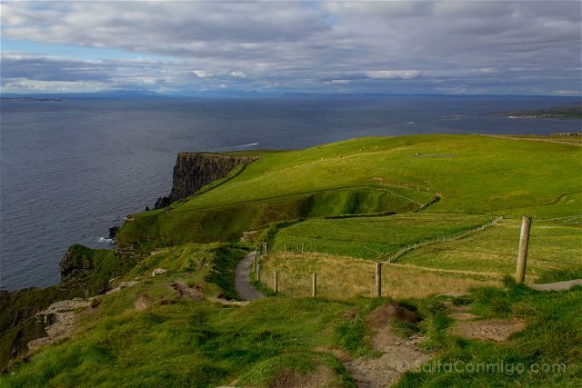 Irlanda Cliffs Acantilados Moher Coastal Trail
