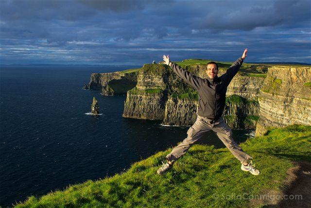 Irlanda Cliffs Acantilados Moher Salto