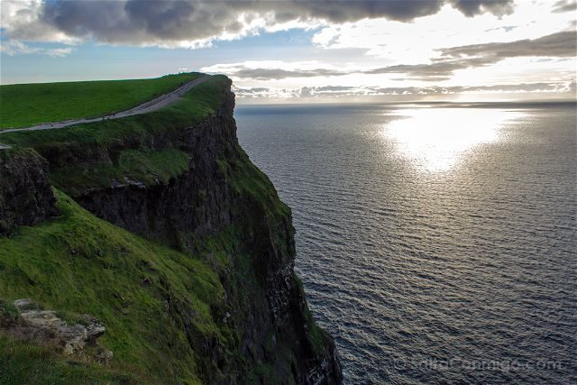 Irlanda Cliffs Acantilados Moher Sendero